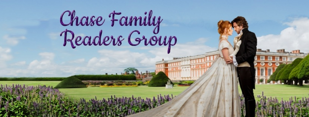 Chase Family Readers Group banner — Enable your images to see our book covers.