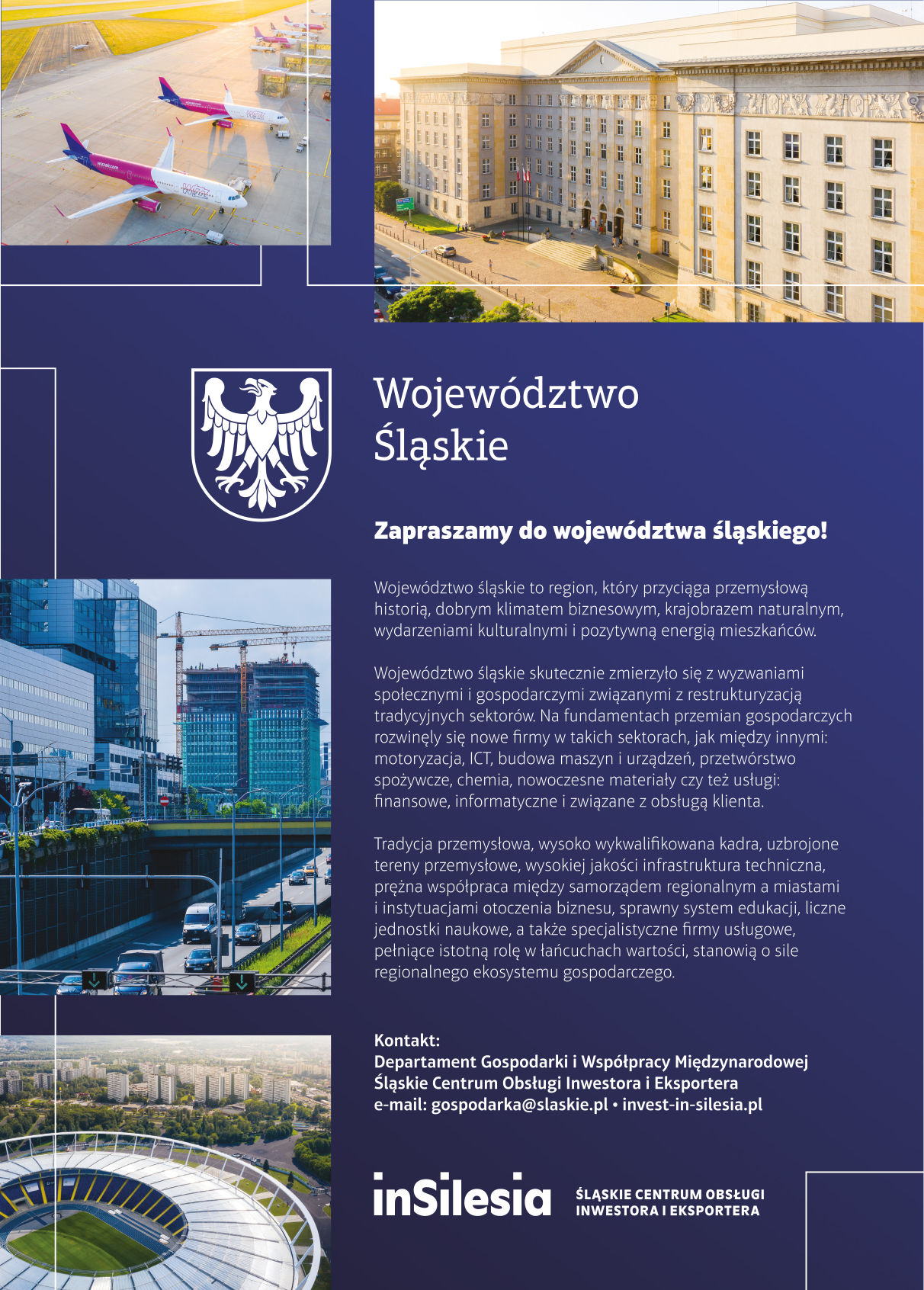 Województwo Śląskie - dobre miejsce dla biznesu.
