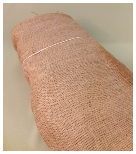 Hessian Cloth Reel Large Natural Fibres