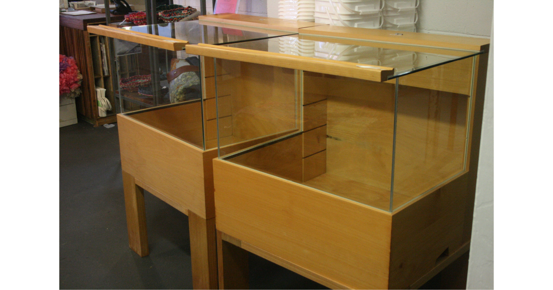 Small Glass Cabinets