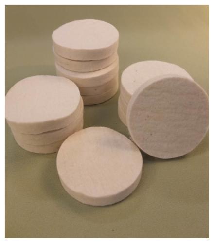 Felt Discs Soft Padding