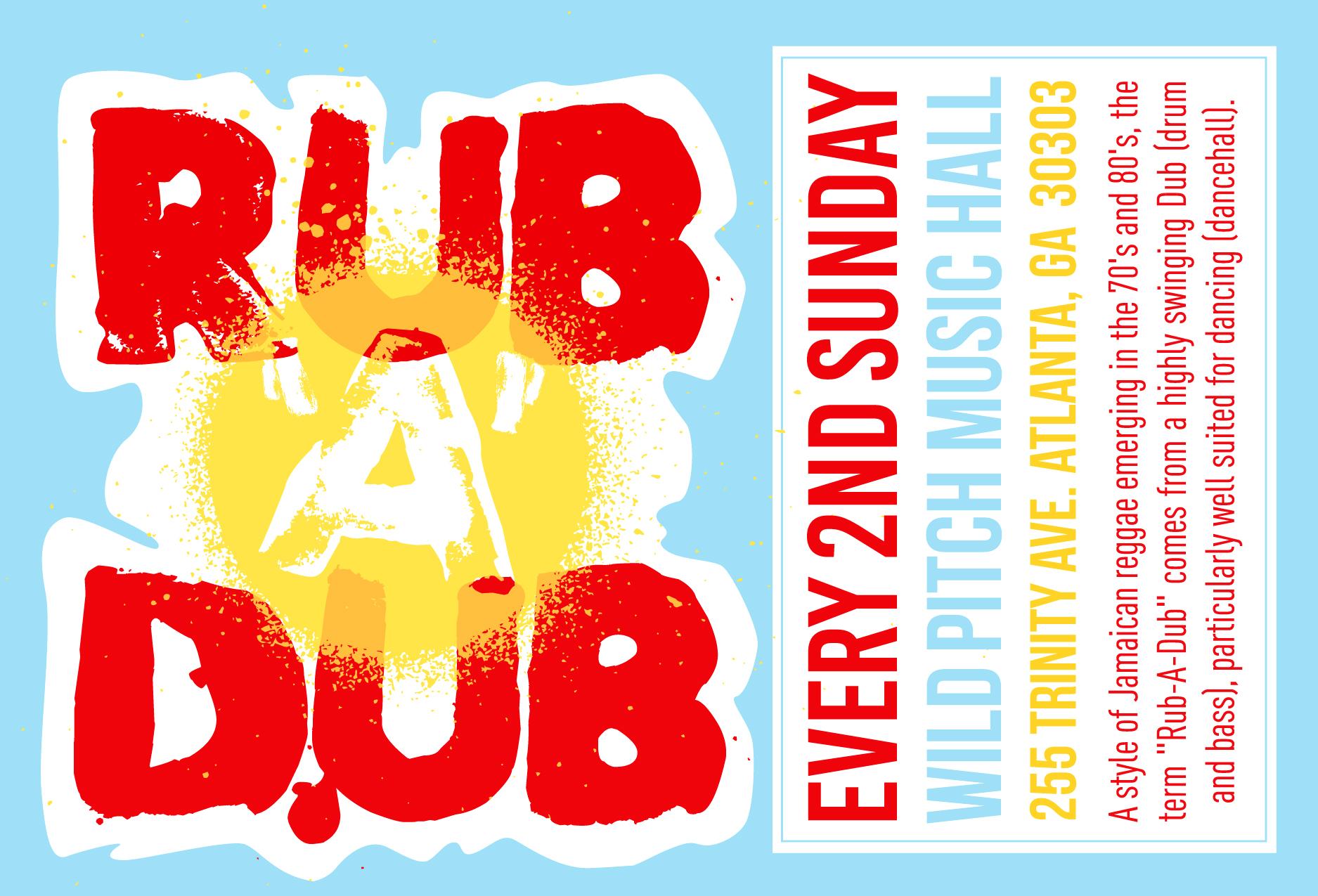 #rubadubatl poster
