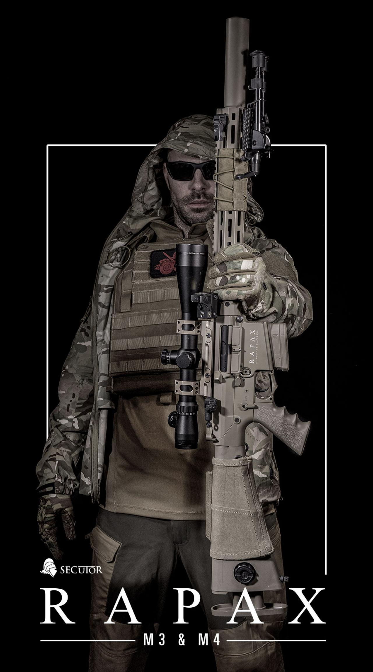 ¡Pre –order edición limitada! RAPAX M3 & M4