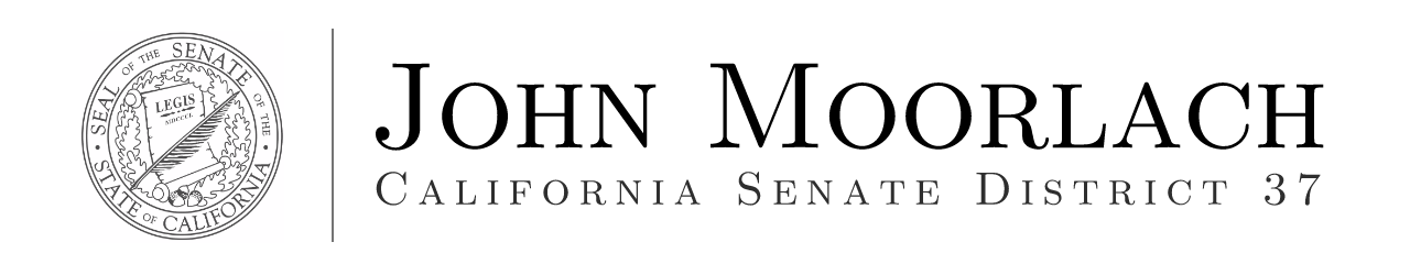 News from office of Senator John Moorlach