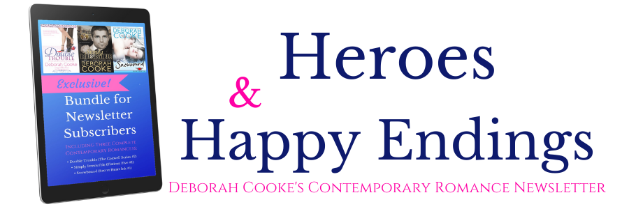 Subscribe to Heroes & Happy Endings, the newsletter for Deborah Cooke's contemporary romances!
