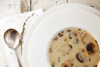 Easy Homemade Cream of Mushroom Soup