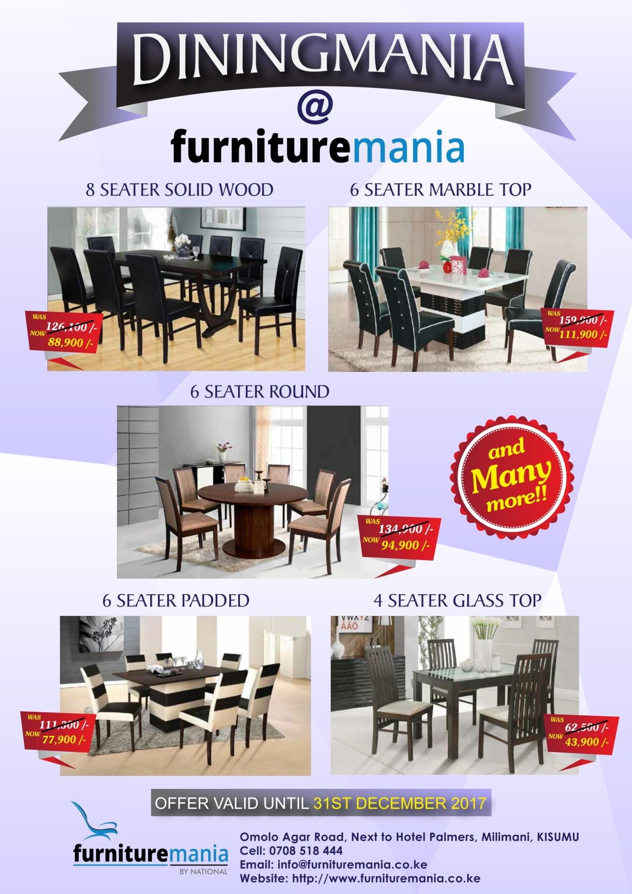 U201cDiningManiau201d At Furniture Mania!