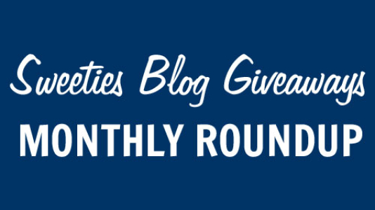 Win more prize when you enter blog giveaways. Click to view Sweeties Blog giveaways roundup