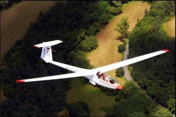 Let na bezmotorovom lietadle