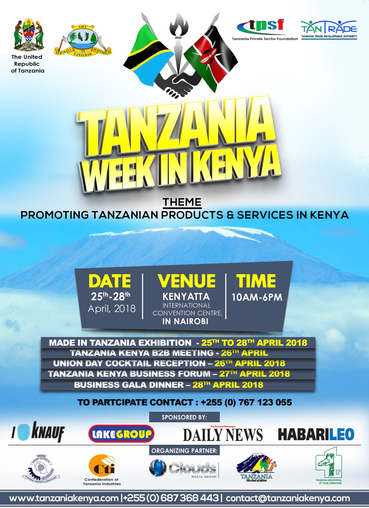 Made in Tanzania Week in Kenya
