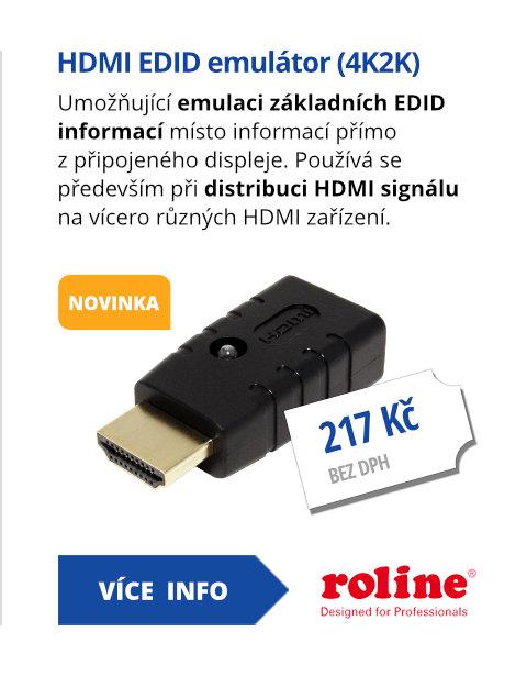 HDMI EDID emulátor (4K2K)