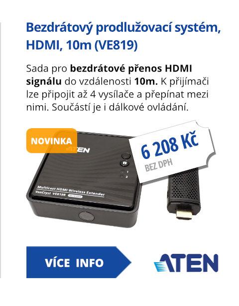 Bezdrátový prodlužovací systém, HDMI, 10m (VE819)