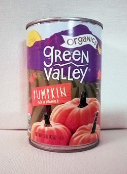 Pumpkin puree canned