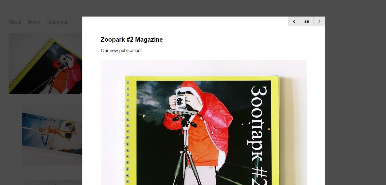 Приобрести принты и книги Александра Бондаря и первый выпуск журнала  «Зоопарк» 02b9fc3cfb8