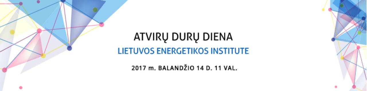 Atvirų durų diena Lietuvos energetikos institute
