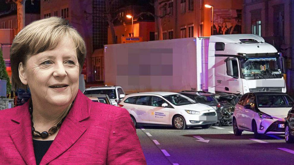 Terroranschlag in Limburg – Angela Merkel forderte: Flüchtlinge sollen LKW-Fahrer werdenvölkerung