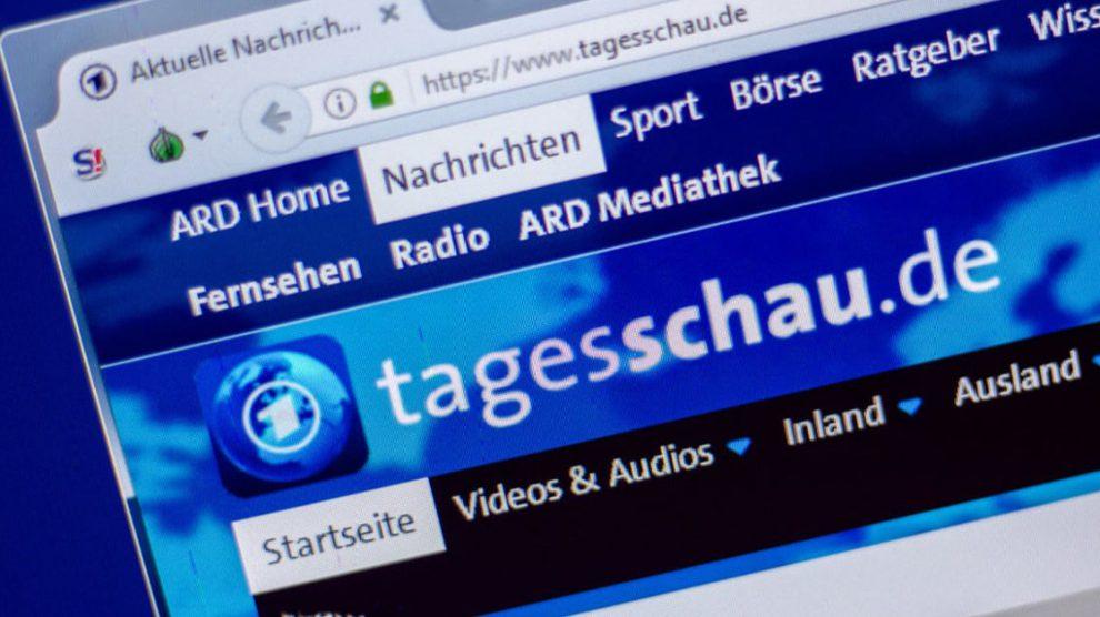 ARD-Tagesschau: Tarnanstrich für niederträchtige bundesdeutsche Außenpolitik
