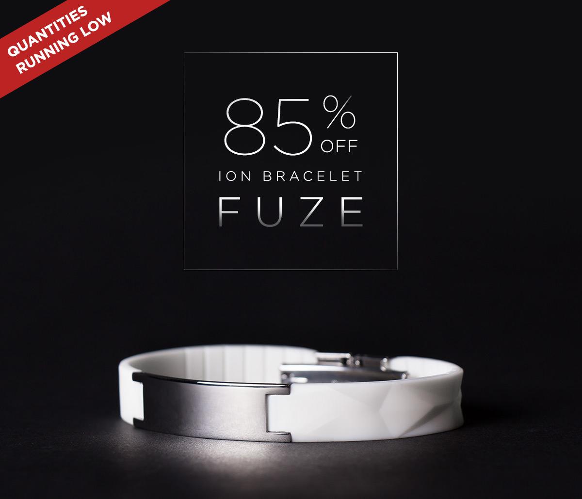 http://85% Off FUZE Ion Bracelet