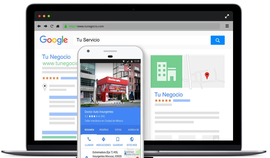 Google Mi Negocio México Marketing Automotriz