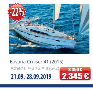 Bavaria Cruiser 41 (2015)