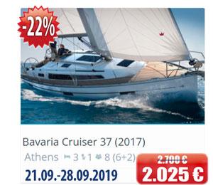 Bavaria Cruiser 37 (2017)