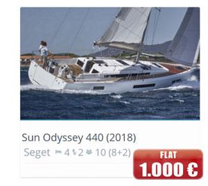 Sun Odyssey 440 (2018)