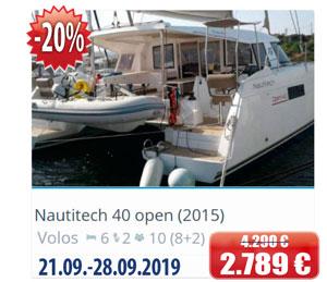 Nautitech 40 open (2015)