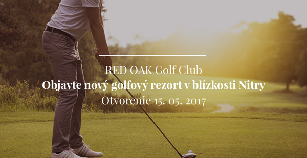 RED OAK - golf rezort