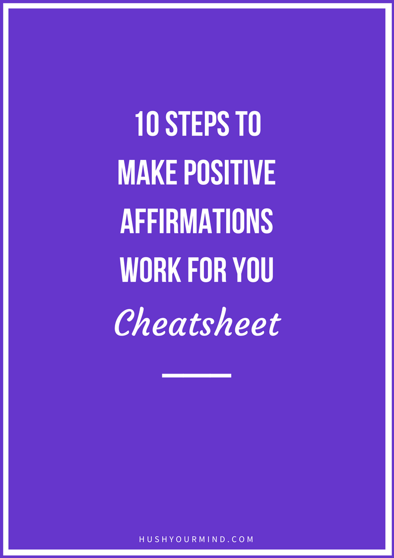 Why Positive Affirmations Fail: Avoid This #1 Mistake | You want to feel more positive, confident, abundant and beautiful. Positive affirmations seem like a brilliant idea: repeat one and.. voilà! All better. Not so. Instead, you feel like they're big fat lies. Why do positive affirmations work for others, but not for you? Continue reading to find out the #1 mistake to avoid and what you absolutely must do before positive affirmations can work for you. In a hurry? Sign up to get your cheatsheet!