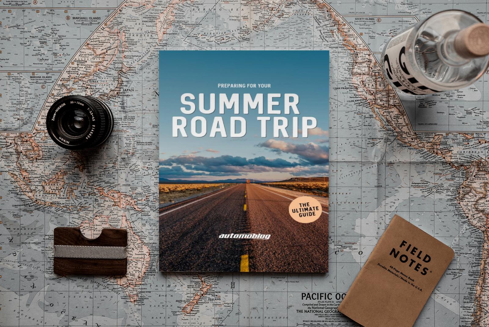 Summer Road Trip book & map