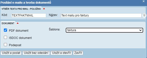Vydaná faktura - QR kód