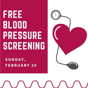 Lehman Memorial United Methodist Church Hatboro PA Blood Pressure Screening