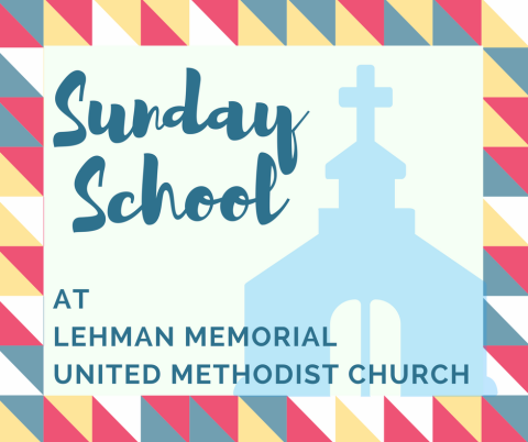 Lehman Memorial United Methodist Church Hatboro PA Christian Education Sunday School