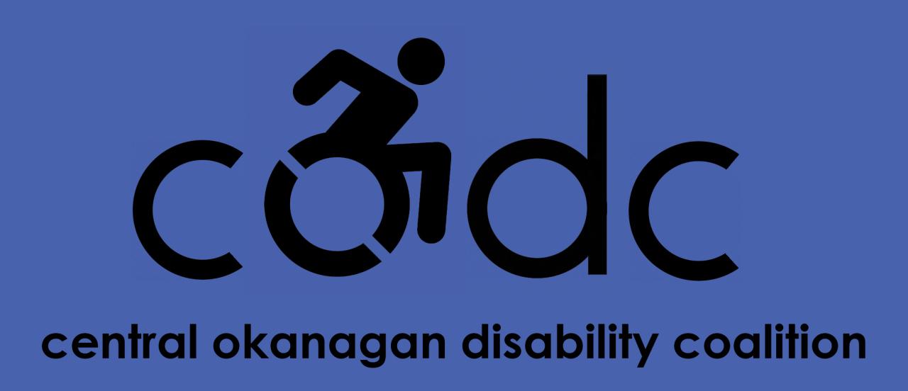 CODC logo - Central Okanagan Disability Coalition
