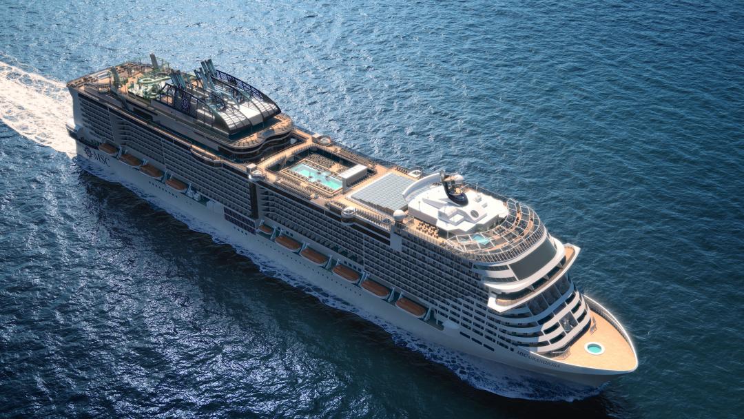 ⛴ Путешествуем вместе с MSC Cruises! Цена? От 579€/чел.! 2