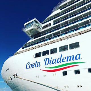 Costa Diadema — Королева Средиземноморья 1