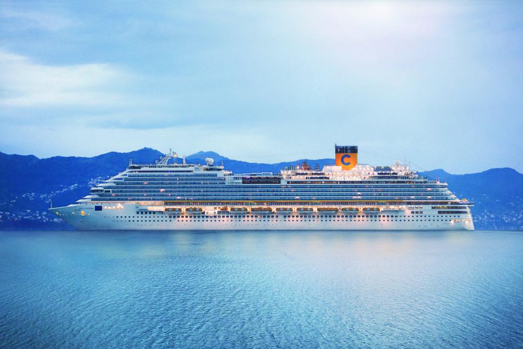 Costa Diadema — Королева Средиземноморья