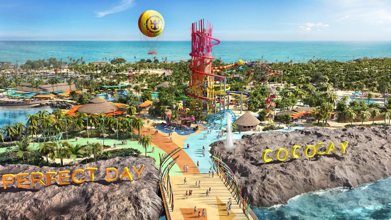 💡А ВЫ ЗНАЛИ: Где находится остров развлечений Royal Caribbean Int.?