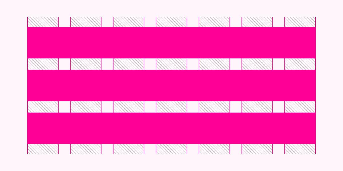 Grid - Linhas (rows)