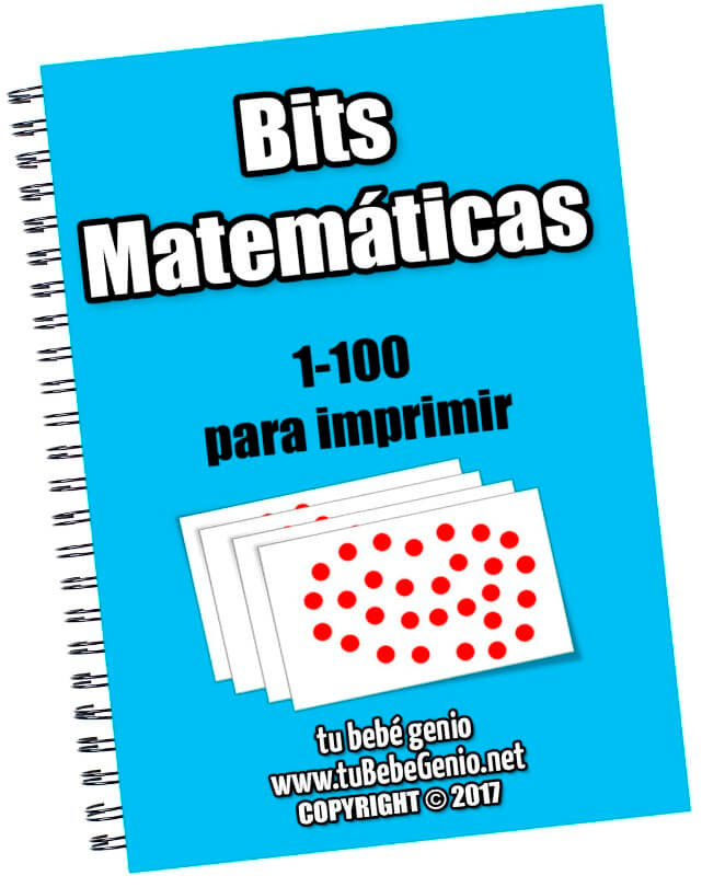 Bits matemáticas 1-100 para imprimir