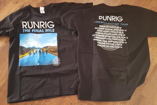 Runrig t-shirts
