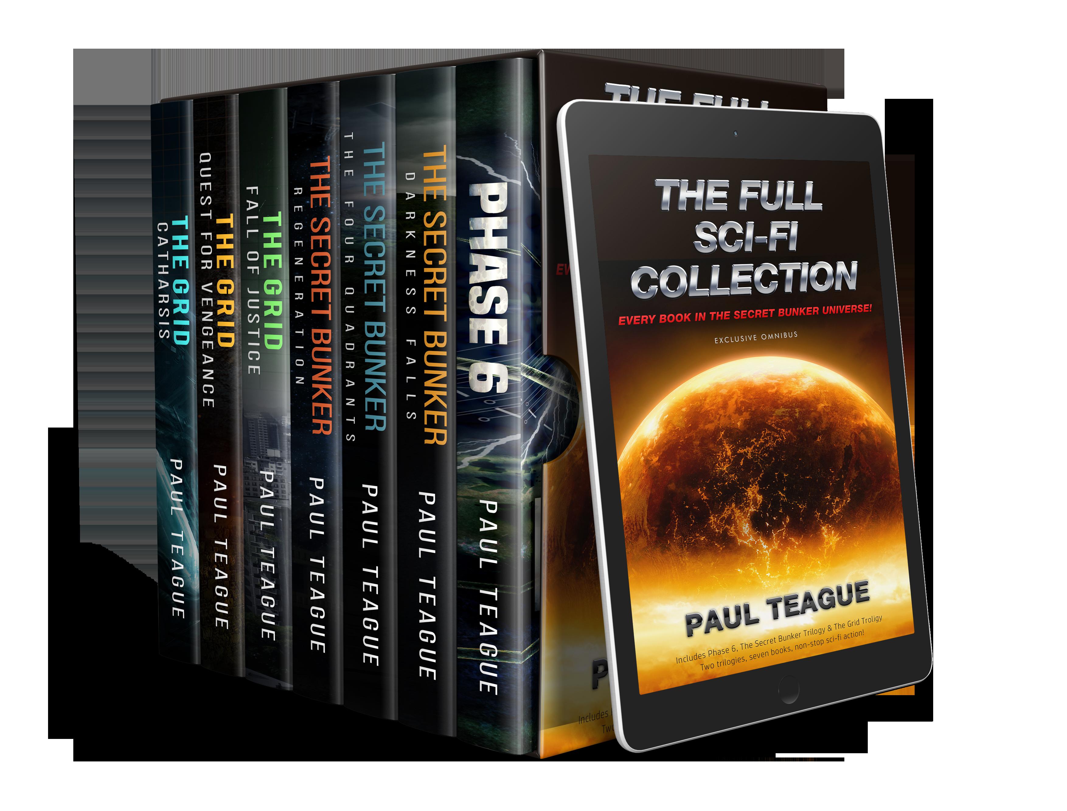 Paul Teague Sci-Fi Collection