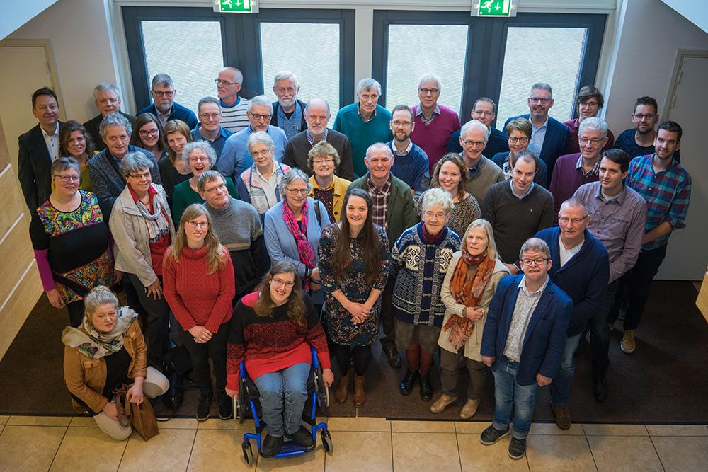 Medewerkers van GlobalRize op de medewerkersdag 2018. Foto: Wouter Muskee