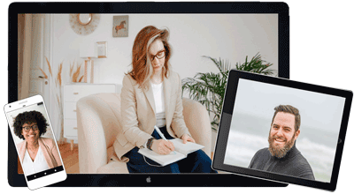 Terapeutonline.se - terapeuter som möter dig online eller fysiskt.