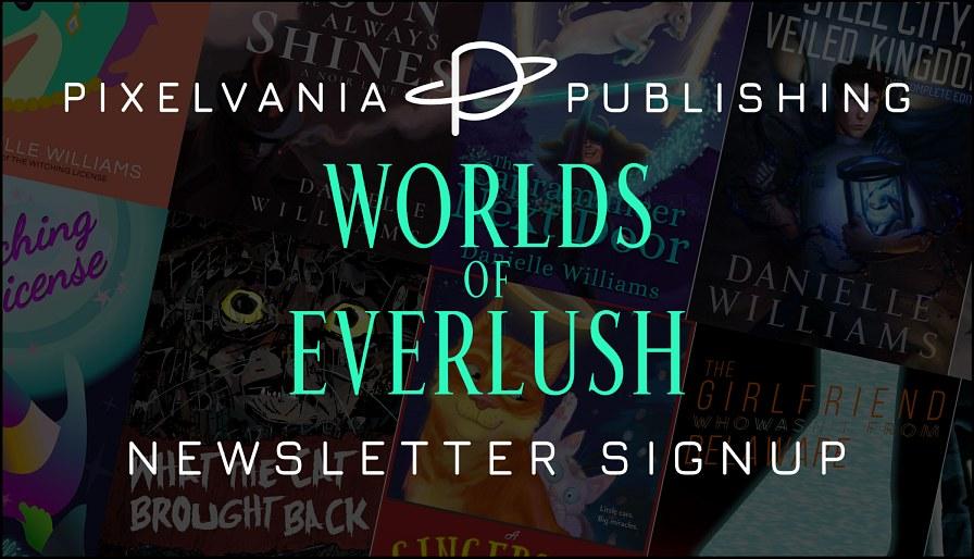 Pixelvania Publishing CHRISTMAS Newsletter Signup