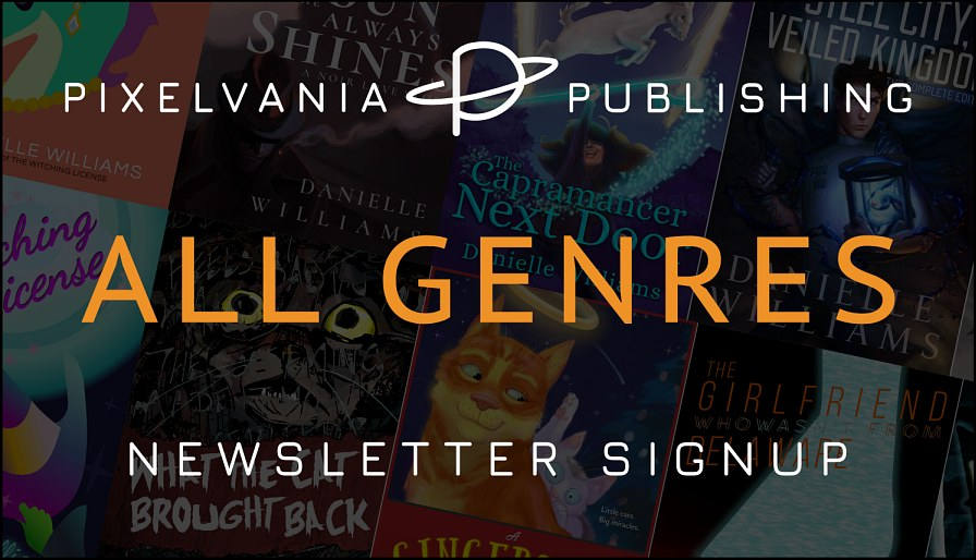 Pixelvania Publishing All Genres Newsletter Signup
