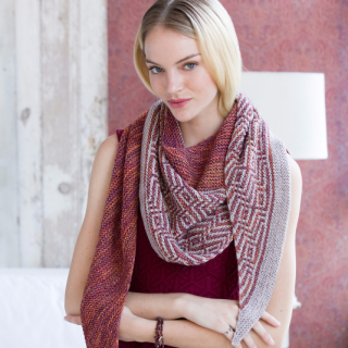 Barnstable by Lisa Hannes in Malabrigo Dos Tierras at Knitnstitch