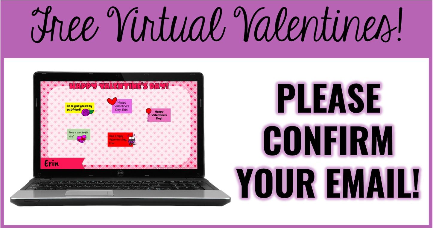 FREE Virtual Valentine Activity