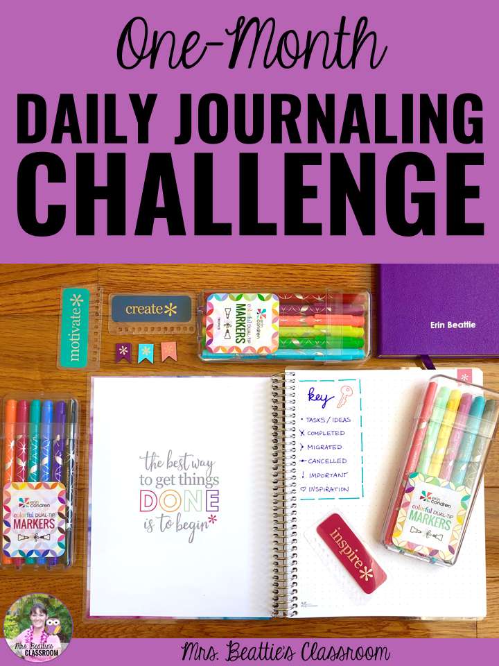 Month-Long Journaling Challenge