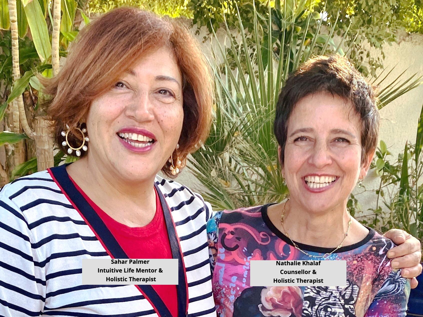 Sahar and Nathalie Holistic Counsellors